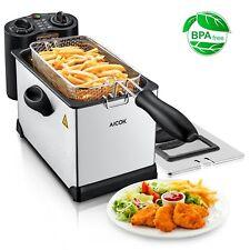 Freidora Electrica Camarón Pollo Palitos De Queso Detachable Fryer