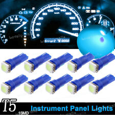 10x 8K Ice Blue T5 74 37 73 1SMD Instrument Speedo Dash LED Light for Mitsubishi