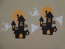 Haunted house ghosts scrapbook die cuts