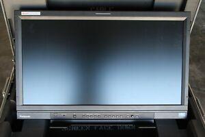 "Panasonic BT-4LH310P 31"" DCI 4K LCD Monitor w/Panasonic Case **ONLY 1593 hours**"
