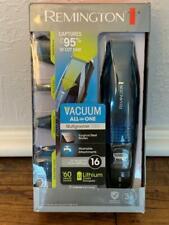 REMINGTON VPG6530 4-in-1 Lithium Power Vacuum Grooming Kit Beard Trimmer 10pc