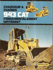 Equipment Brochure - Caterpillar - 943 - Crawler Tractor - French (E1835)