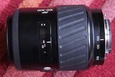 Minolta Konica Sony autofocus monture A zoom 100 300 4,5 - 5,6