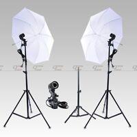 New Continuous Lighting Kit Lamp Umbrella E27 Bulb Light Stand for Photo Studio