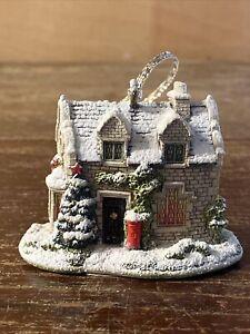 Christmas Post - Lilliput Lane 2006 Christmas Ornament - L2902