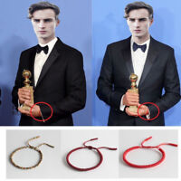 Fashion Lucky Unisex Buddhist Knots Rope Bracelet Tibetan Adjustable Handmade