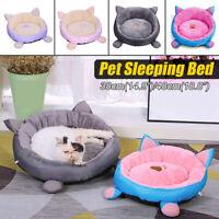 Plush Soft Warm Pet Dog Cat Deep Sleeping Mat Bed House Winter Lounger