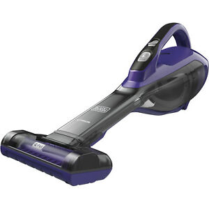 BLACK+DECKER Cordless Pet Hand Vacuum Pet Purple Floor Utility Machine Violet