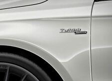 Mercedes AMG Emblemas Insignias Turbo A45 CLA45 GLA45 Set 2PCS izquierda derecha