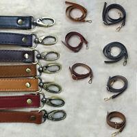 120cm Adjustable Handbag DIY Handle PU Leather Shoulder Bag Strap Belt Buckle