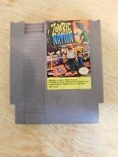 Nintendo NES Zombie Nation Video Game Cartridge Authentic