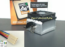 AMD Athlon 64 Heatsink Cooler for 2800 3000 3200 3400  Socket 939, 940 AM2 New