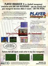 "Player Manager 2  ""ANCO"" 1995 Magazine Advert #5776"