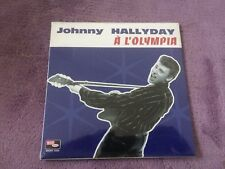 CD EP Single JOHNNY HALLYDAY - a l'olympia   NEUF