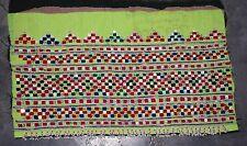 Kuchi Heavy Embroidery Ats Trim Rare Vintage Gypsy Rabari Banjara Boho Festival