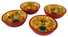 Set of 4 Tapas Bowls / Dishes 9 cm x 3.5 cm  Spanish Handmade Ceramic Pottery