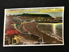 RP Postcard Unposted Scarborough South Bay at Night H9785 - RF2 PCBOX1