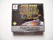 Star Wars Rebel Assault II Platinum PS1 Playstation 1