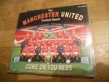 """MANCHESTER UNITED FOOTBALL SQUAD """"COME ON YOU REDS"""" CD SINGLE 2 TRACKS UK 1994**"""