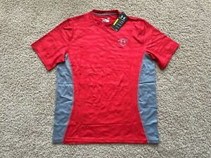 NEW Under Armour 9 Strong Baseball Fitted Shirt men L