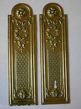 ancienne plaque proprete laiton  art deco porte ancienne serrure