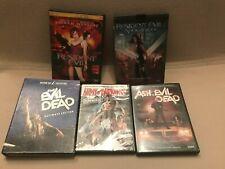 5 Cult Dvd Lot Ash vs Evil Dead: Season 1 Tv Resident Evil, Anchor Bay Sam Raimi