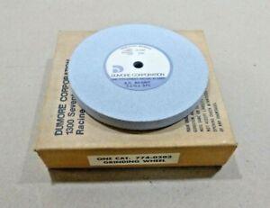 "Aluminum Oxide Grinding Wheel  5"" x 1/2"" x 3/8"" Hole 80 Grit - Code 4 - 4500 Rpm"