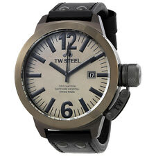 TW Steel CEO Canteen Quartz Gray Dial 50mm Mens Watch CE1052