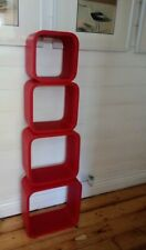 Vintage Cubed nest of tables x 4 mid century  retro stackable