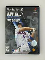 MLB 07 The Show - Playstation 2 PS2 Game - Complete & Tested