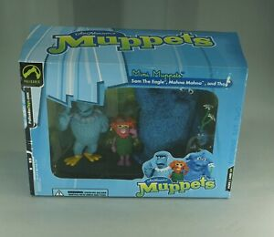 2003 THE MUPPET SHOW MUPPETS SAM MAHNA THOG ACTION FIGURES MINT UNOPENED IN BOX