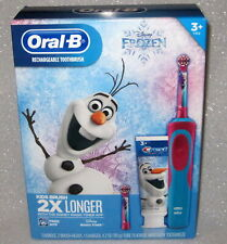 CHILDRENS ORAL- B STAGES VITALITY RECHARGABLE TOOTHBRUSH FROZEN W 2 BRUSH HEADS