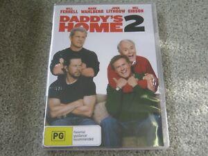 Daddy's Home 2 - Will Ferrell - Brand New & Sealed - Region 4 - DVD