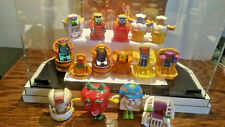 LOT OF 15 DIFFERENT MCDONALD'S FOOD CHANGEABLES ROBOTS-TRANSFORMERS 1987 TO 1993