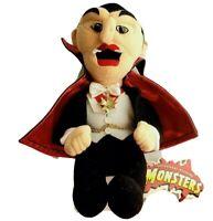 DRACULA Monsters 1999 Universal Studios Vampire Plush Stuffed Stuffins Collector