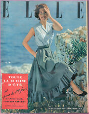 ▬►Elle 347 JUILLET 1952_ MODE FASHION VINTAGE_ANNA MAGNANI_DOUGLAS FAIRBANKS