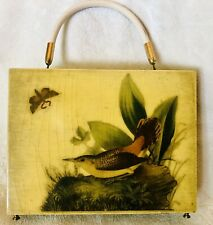 Cigar Box Purse- , Butterfly 70's Really Nice- Retro Vintage