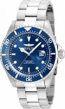 Invicta Men's Pro Diver Blue Dial Silver Tone Stainless Steel Watch 22019