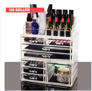 Acrylic Cosmetic Box Drawer Clear Storage Box