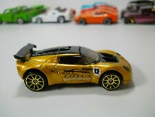 Hot Wheels Lotus Elise Sport Gold Paint HTF 1/64 Scale JC28
