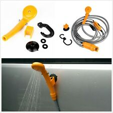 Portable 12V Electric Car Plug Outdoor Camping Travel Shower Water Pipe Shower