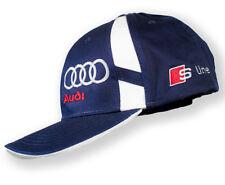 Audi S line kappe, Baseball cap, Audi mütze mit S-Line Eidechse logo. Dunkelblau