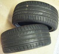 N. 2 gomme pneumatici DUNLOP SP SPORT MAXX GT 245/35ZR19 (93Y) per BMW M3 E92