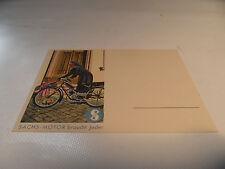 alte Karte Postkarte Fichtel & Sachs 98 ccm 98er  Nr. 6 .