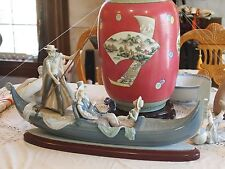 Lladro In the Gondola 01001350 , Huge Fine Porcelain Figurine - Numbered Series