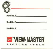 Gaf View-Master 3Reel envelopes/sleeves -High quality-25 pack - Replacements