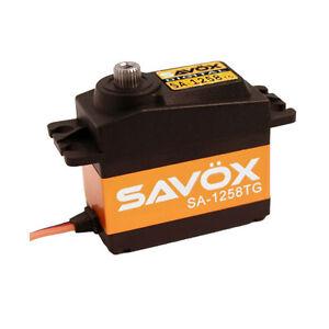Savox Radio Control High Torque Coreless Digital 12KG Aircraft Servo SA1258TG