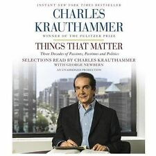 Things That Matter: Three Decades of Passions, Pastimes and Politics (CD)