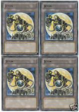 Yu-Gi-Oh - lot de 4 Jeton Force Arcane XVIII TKN3-FR003