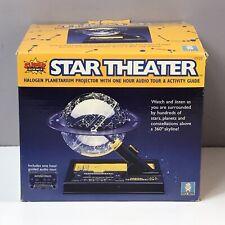Uncle Milton Star Theater Halogen Planetarium Projector Super Science New In Box